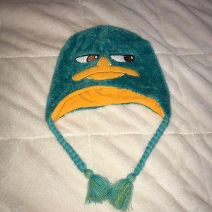 Disney Accessories - Disney Perry The Platypus Hat